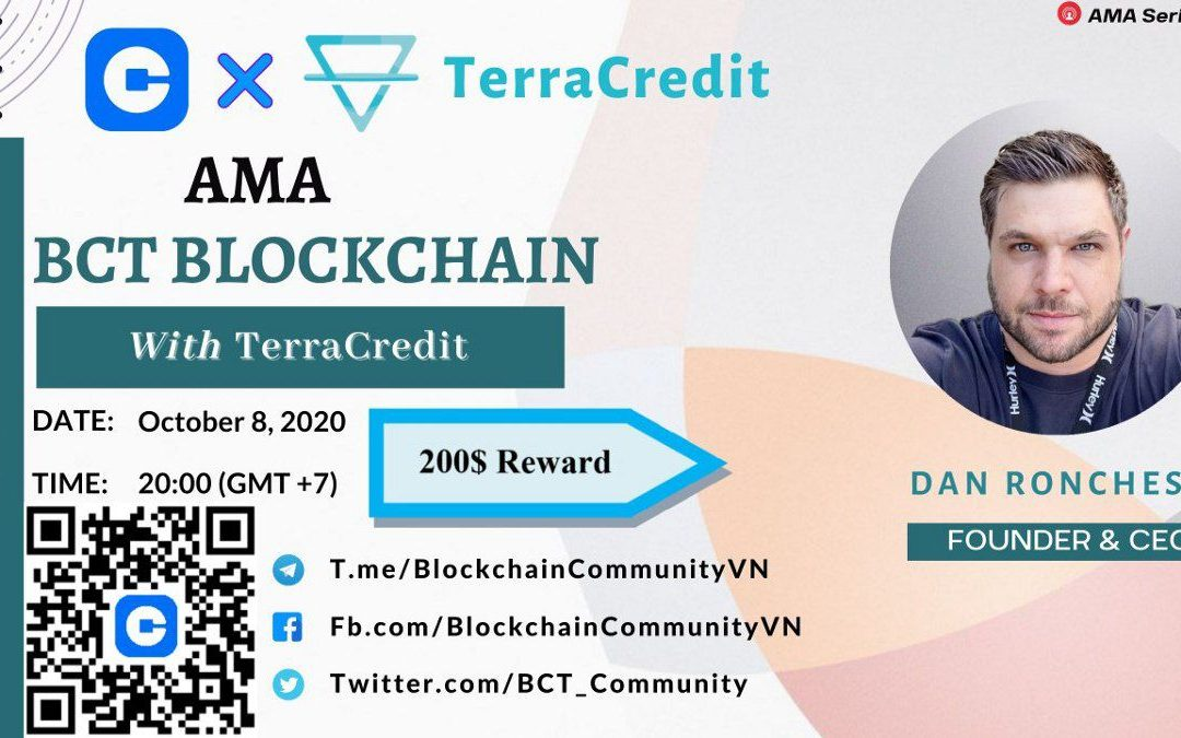 BCT Blockchain Community AMA with Dan Ronchese, the CEO of Terra